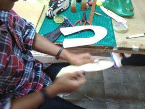 kursus membuat pola sepatu yogyakarta