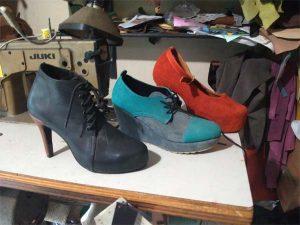 Kursus membuat sepatu high heels